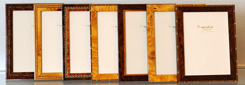 Italian Handmade Marquetry Frames